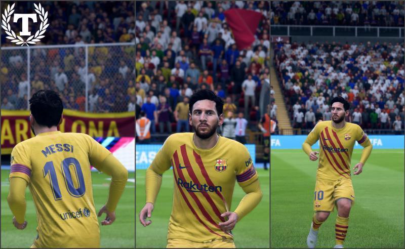 Фанатская версия формы Барселоны