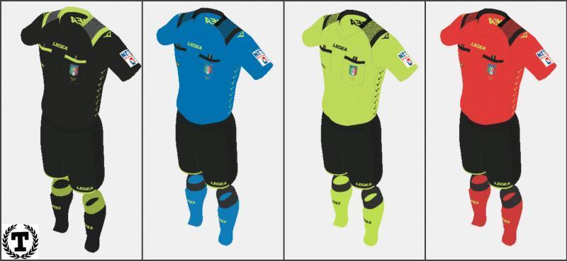 Serie A Referee Kits