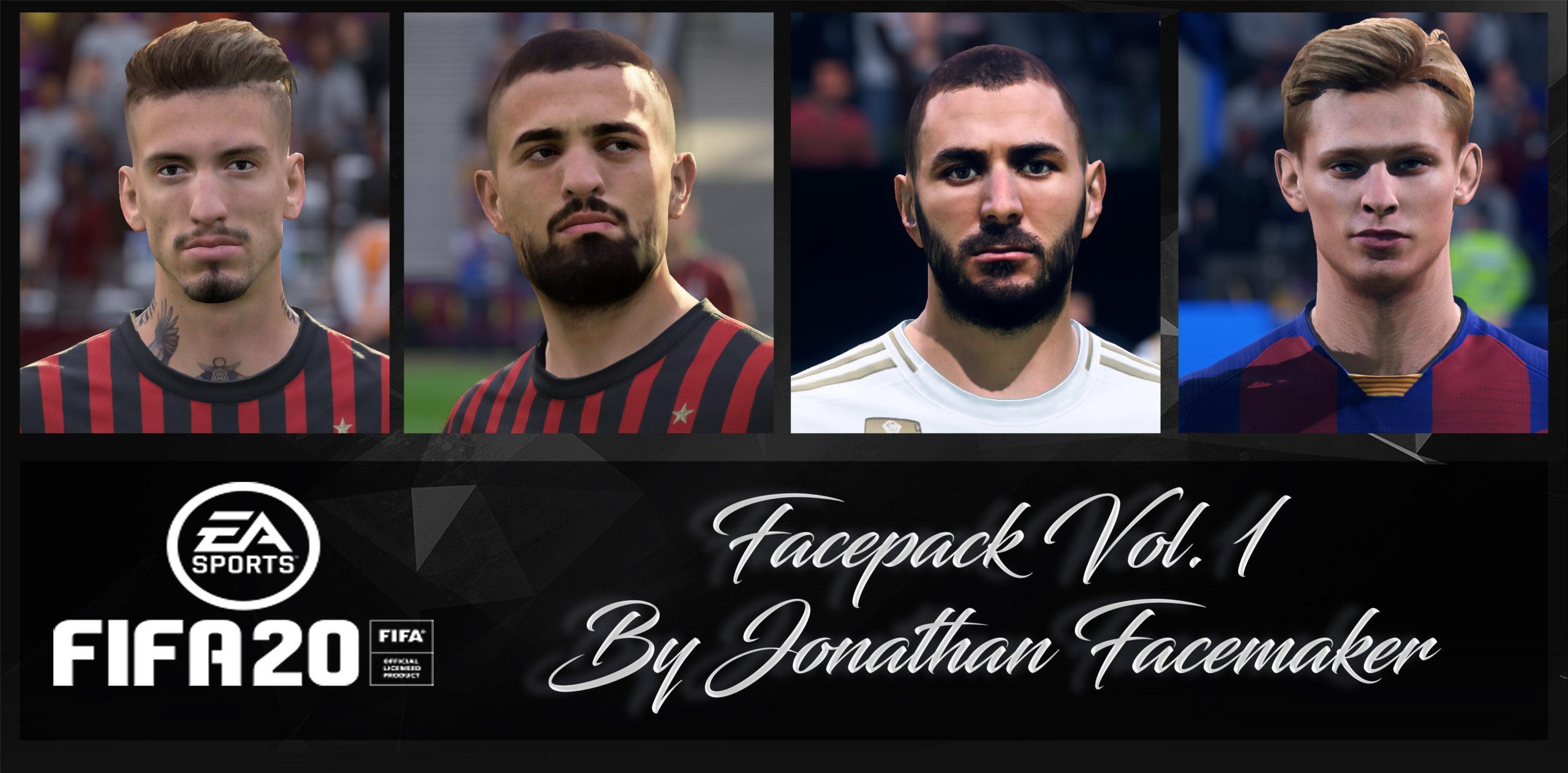 Facepack Vol. 1 By Jonathan Facemaker