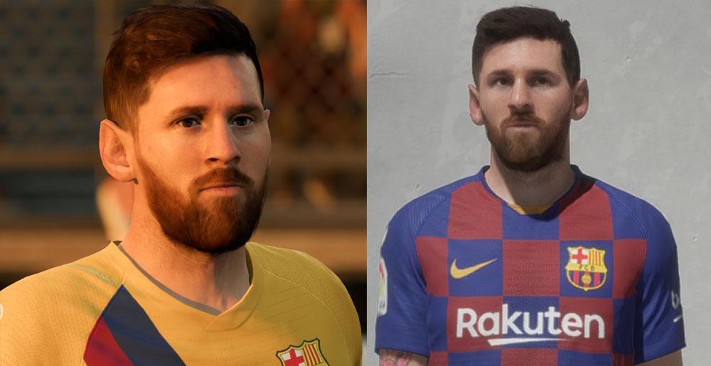 Лицо для Messi