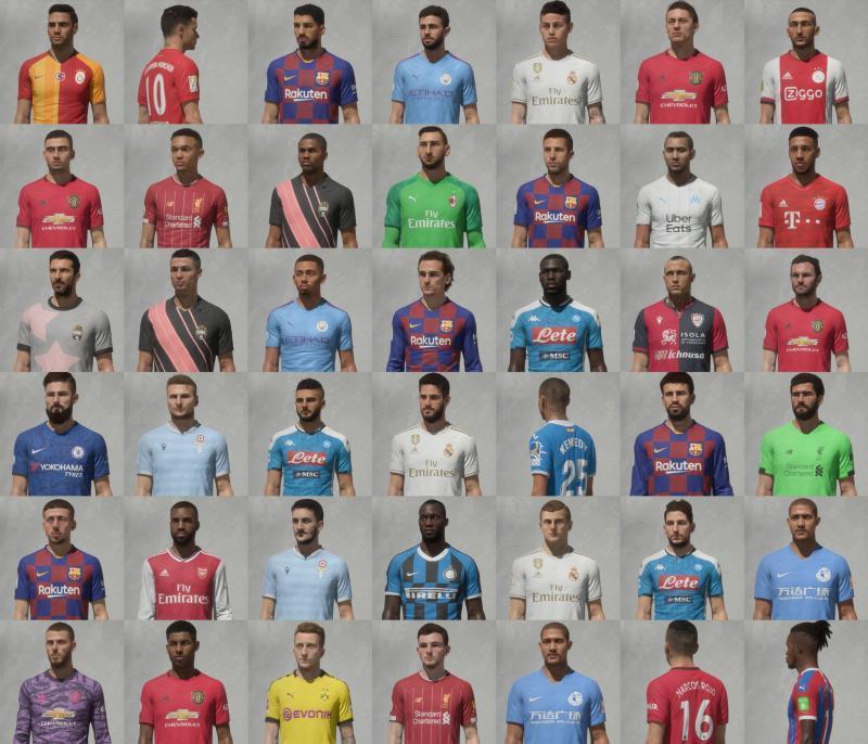 FCB17 Facepack #1