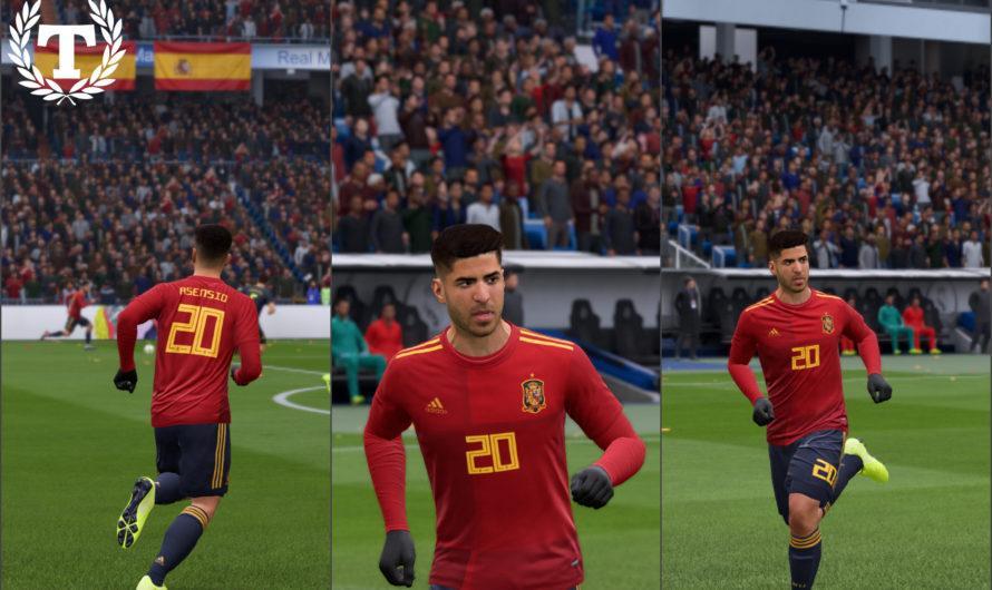 Spain Home Kit — Euro 2020