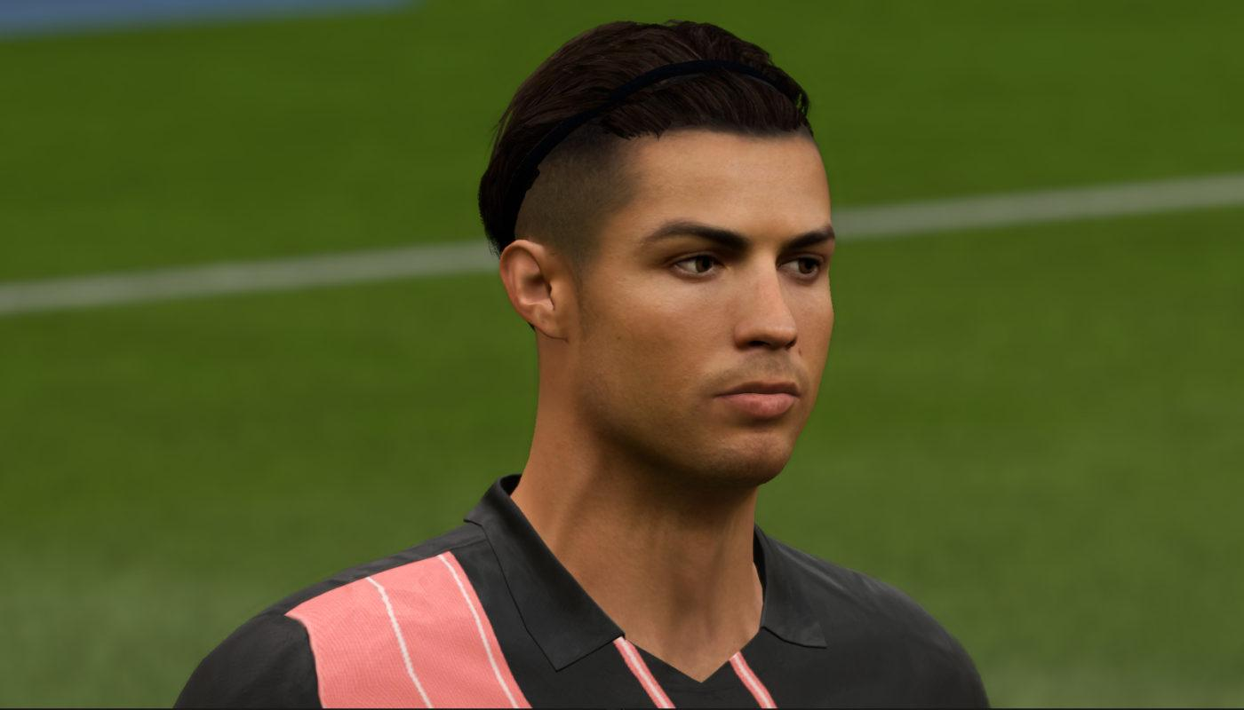 Cristiano Ronaldo Hair Band version