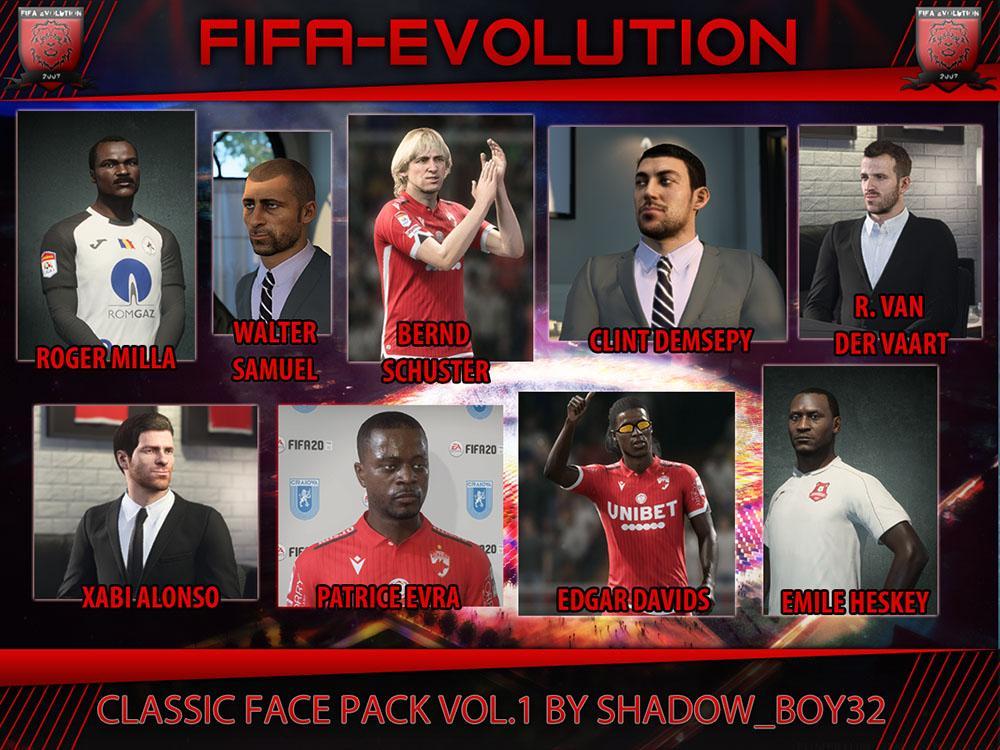 Classic face pack vol. 1