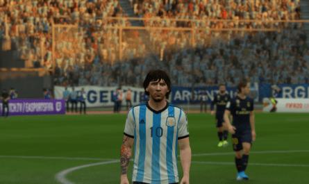 Домашняя форма Аргентины 2014