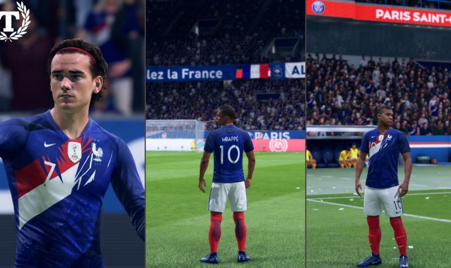 Домашняя форма сборной Франции