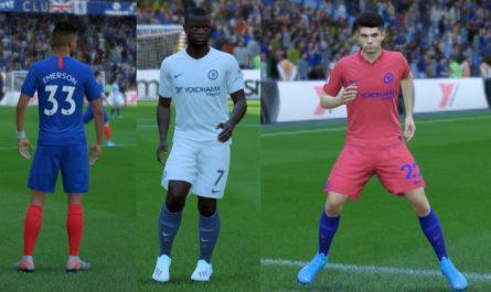 Chelsea - Fantasy Kits for 2020-21 Season Update