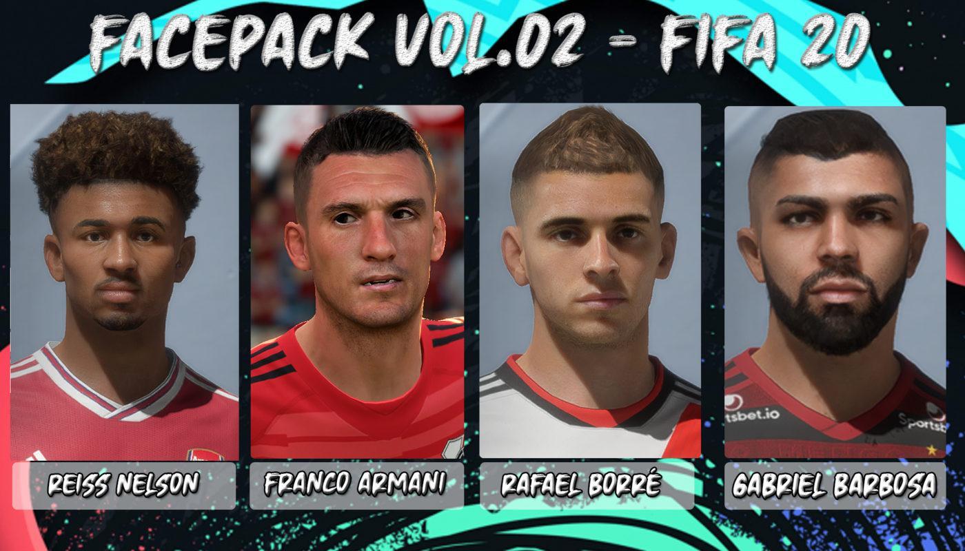 Facepack Vol.02 - Fifa 20