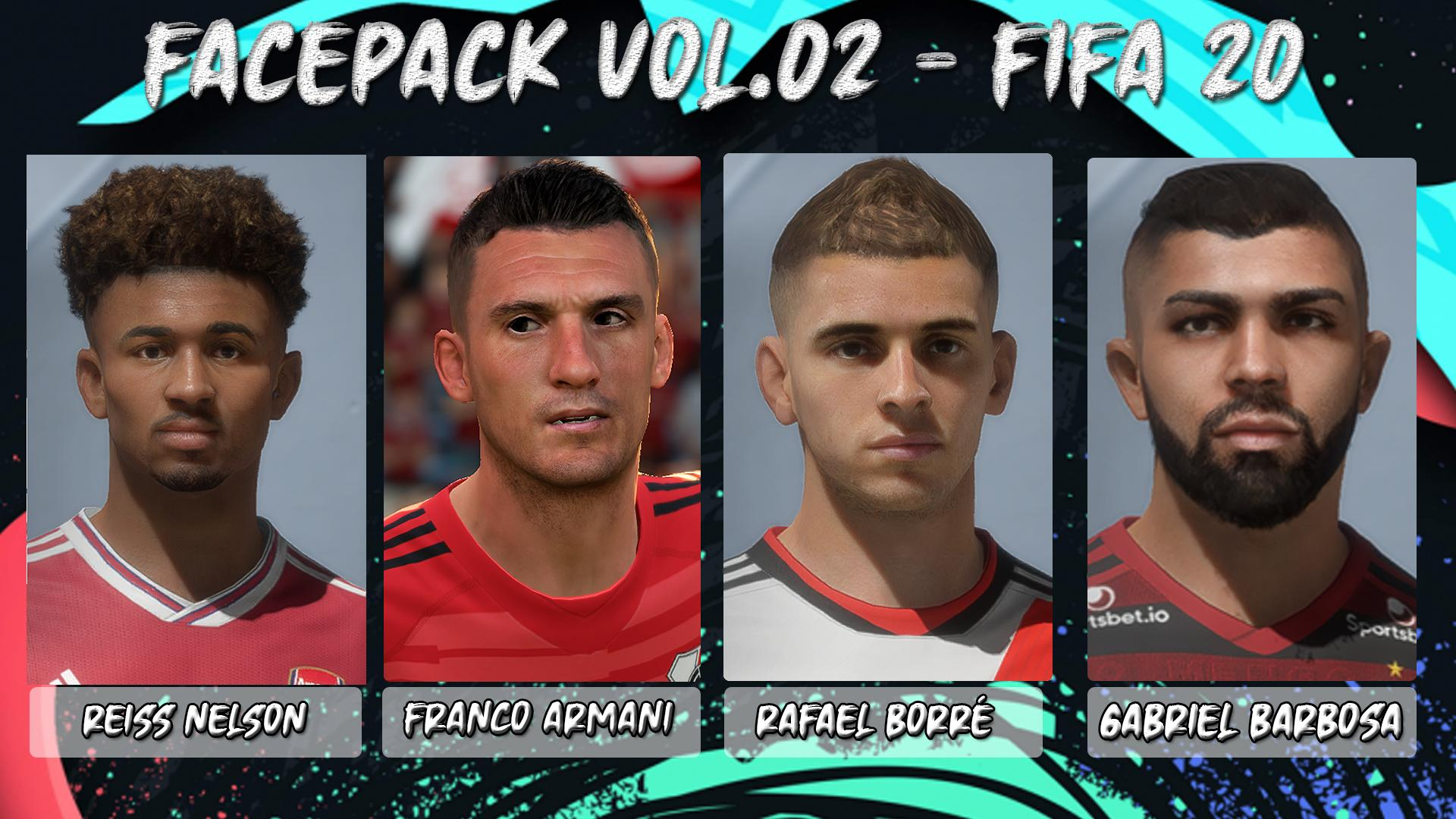 Facepack Vol.02 - Fifa 20​