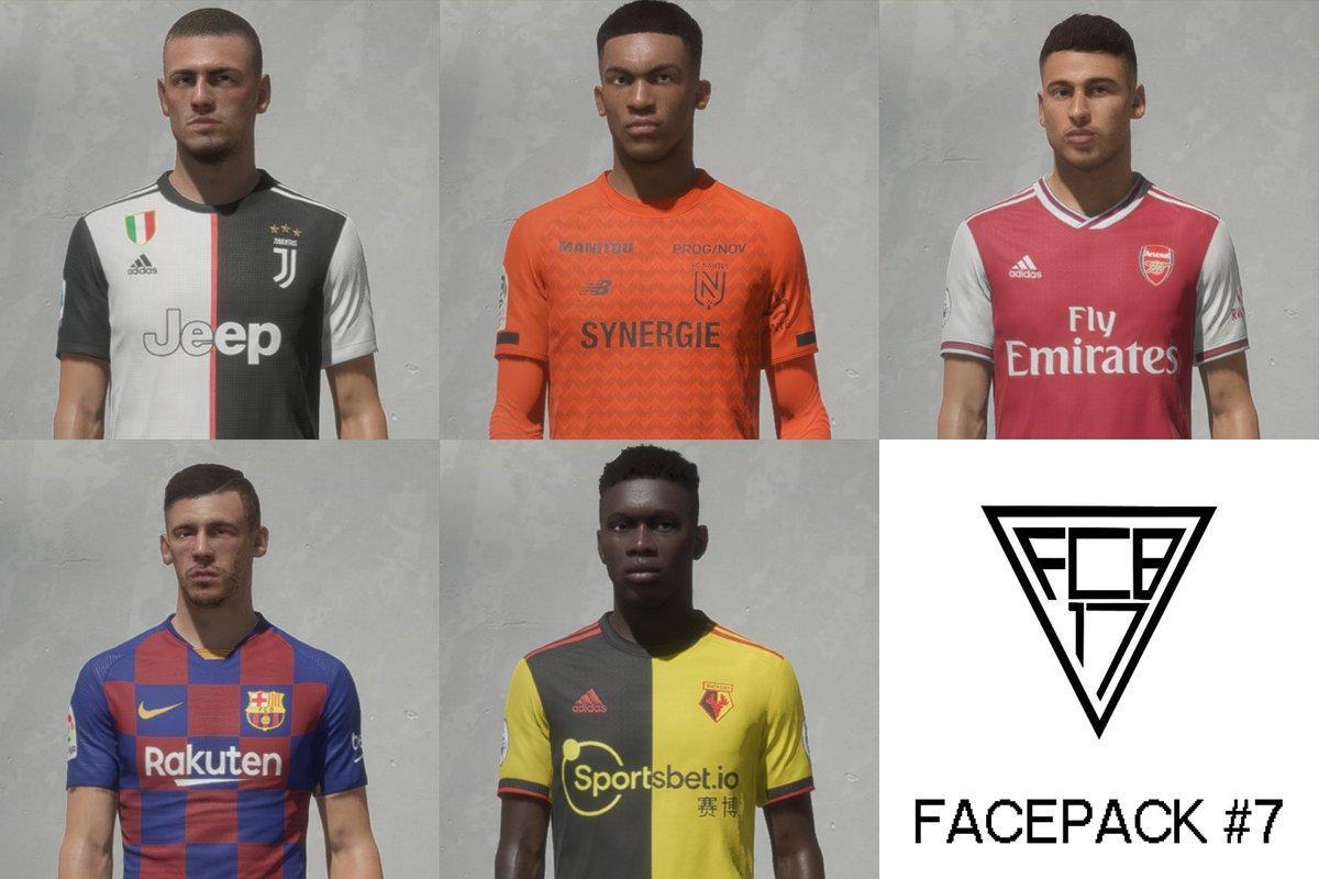 FCB17 Facepack #7