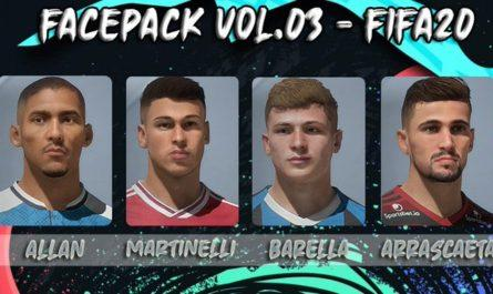 Facepack Vol.03 by PedroFifa77