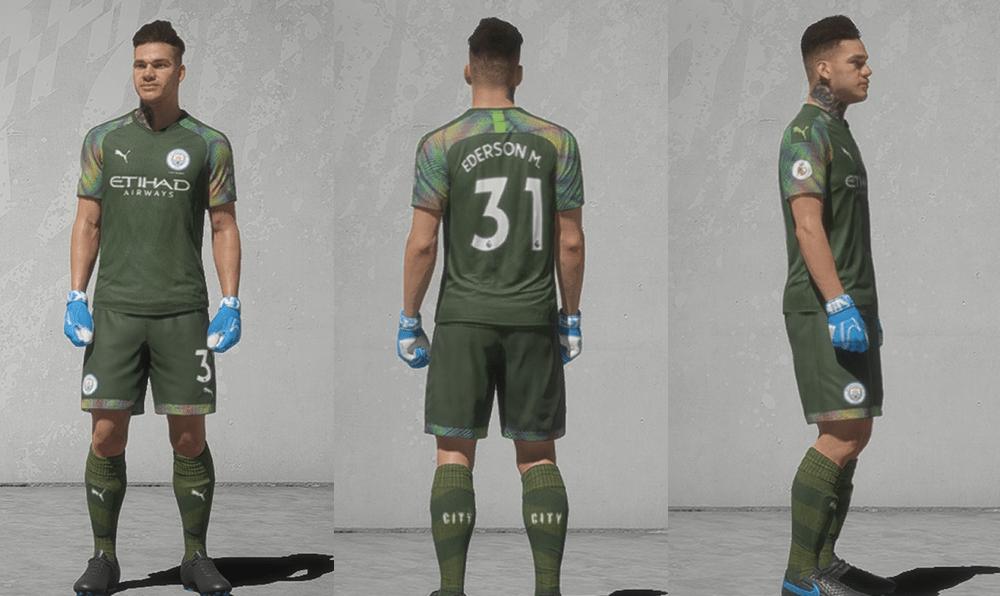 Manchester City: GK Kit Remake
