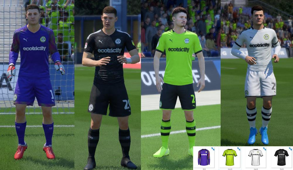 Forest Green Rovers: Fantasy Kits