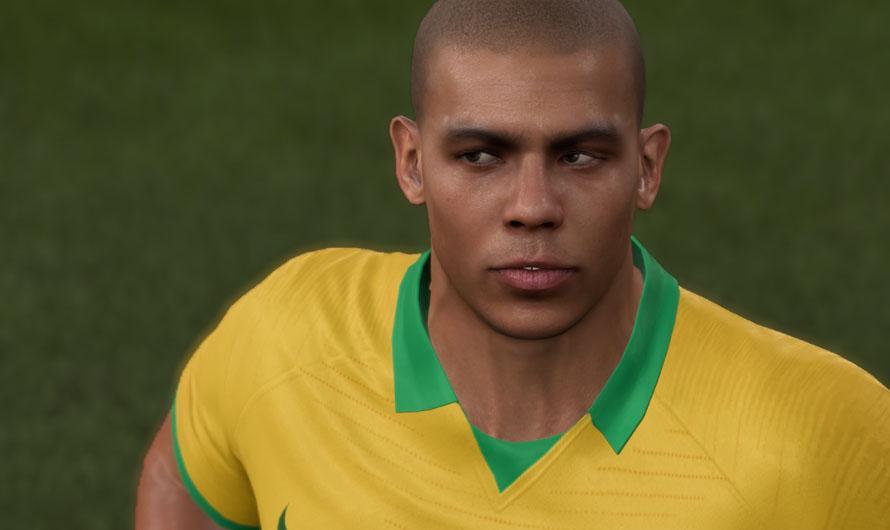 Лицо Роналдо