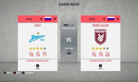 Российская Премьер Лига для FIFA 20
