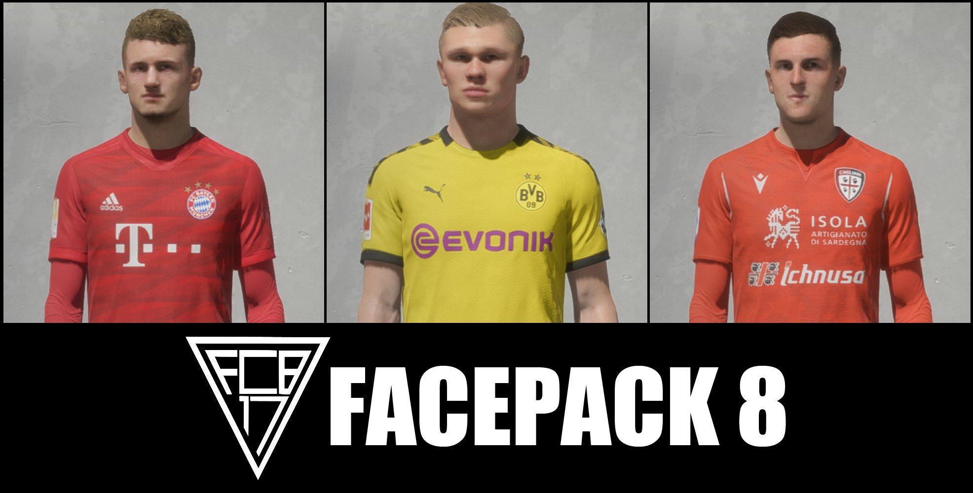 FCB17 Facepack #8