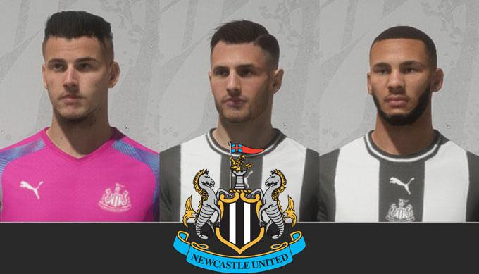 NUFC  Face Pack