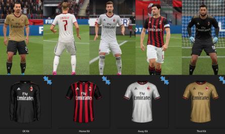 AC Milan: Fantasy Kits