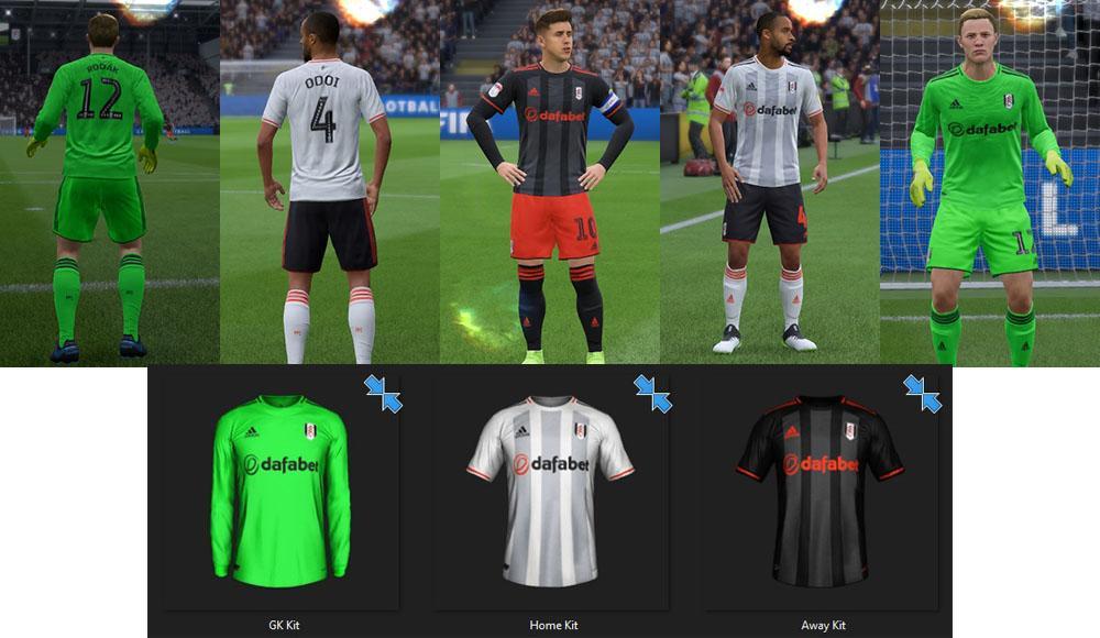 Fulham: Fantasy Kits