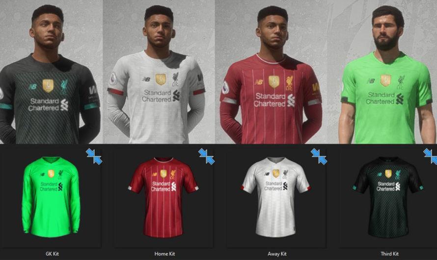 Liverpool: Kits Update