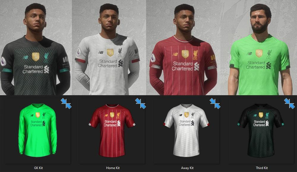 Liverpool: Kits Update