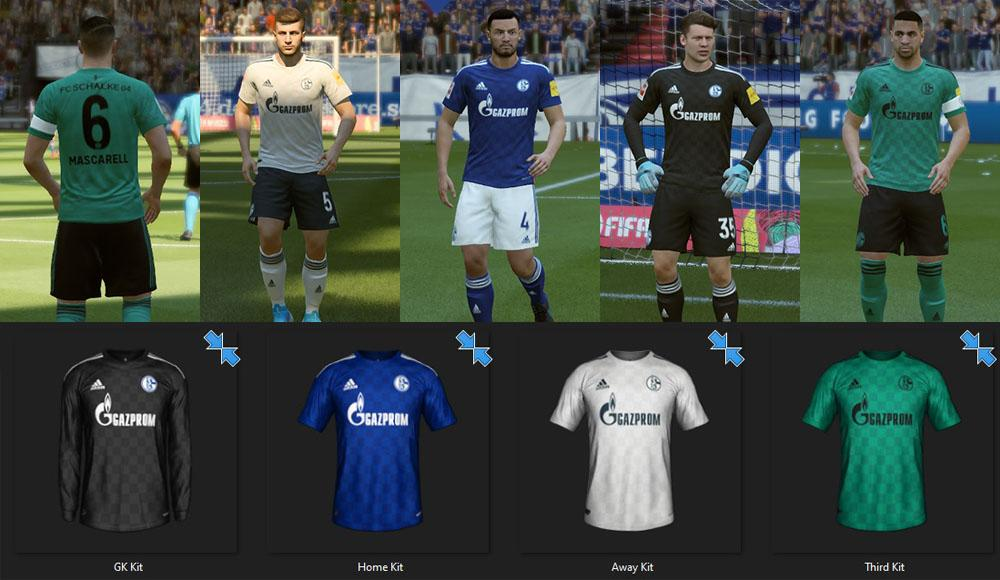Schalke 04: Fantasy Kits