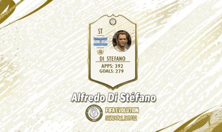 Alfredo Di Stefano Icon for FIFA 20