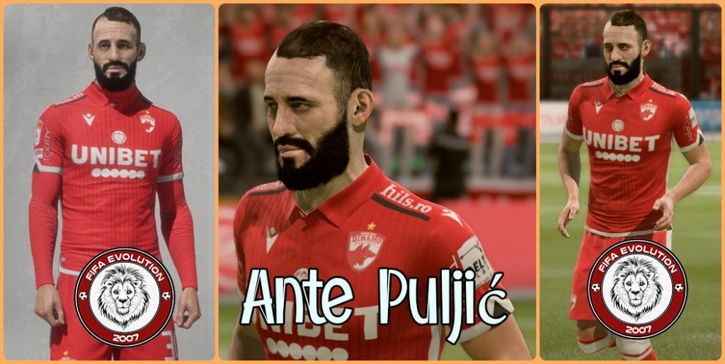 Лицо Анте Пульича для FIFA 20 скачать