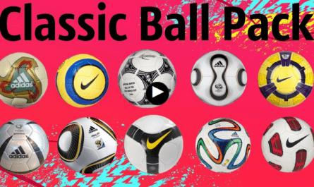"""FIFA """"Пак классических мячей"""""""