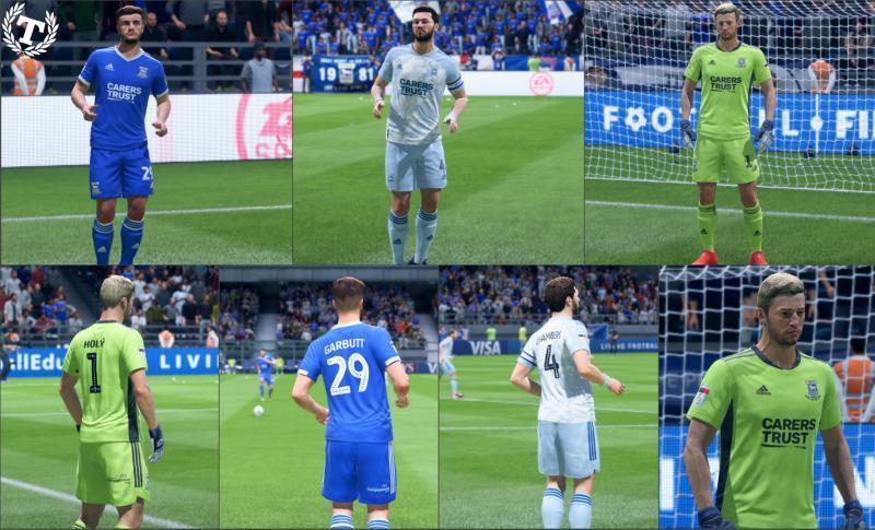FIFA 20 «Форма Ипсвич Таун на сезон 20-21»