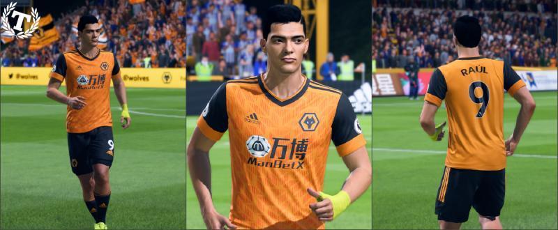 "FIFA 20 ""Wolverhampton Wanderers Home Kit 20/21"""
