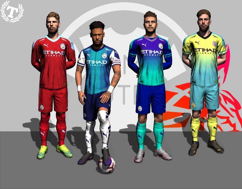 """FIFA 20 """"Вымышленная форма Манчестер Сити"""