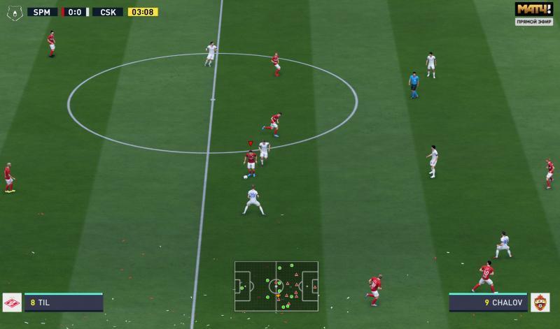 """FIFA 20 """"Табло Российской Премьер Лиги"""