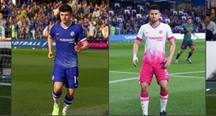 """FIFA 20 """"Вымышленная форма Челси"""