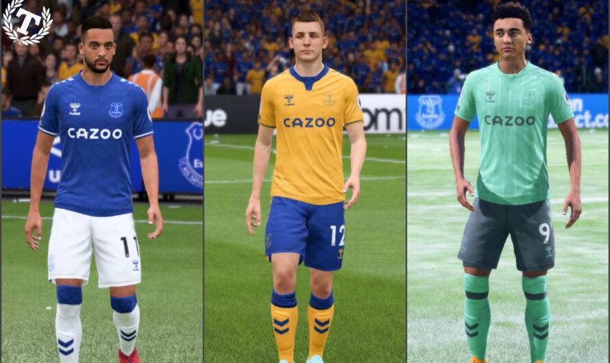 Новая форма Эвертона на сезон 2020-21